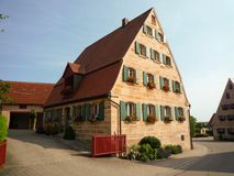Old Franconian house Royalty Free Stock Image