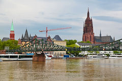 Old Frankfurt, Germany Royalty Free Stock Photos