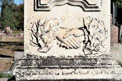 Old Freemason's Grave Stock Photography