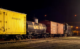 Old freight train Royalty Free Stock Images