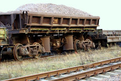 Old freight wagon Royalty Free Stock Photography