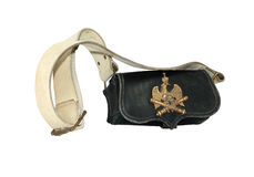 Free Old French Artillery Bag Royalty Free Stock Images - 33666809