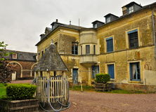 Old French Calvados Winery Royalty Free Stock Images