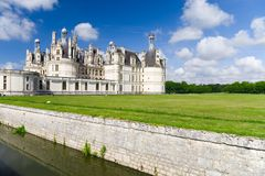 Old french castle Stock Photo
