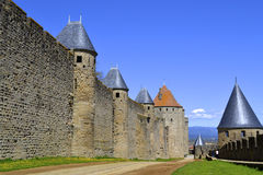 Old French Castle Royalty Free Stock Photo