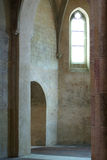 Old French church interior Royalty Free Stock Images