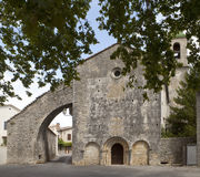 Old French Church. Royalty Free Stock Photo