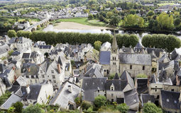 Old French  country  town Royalty Free Stock Photos
