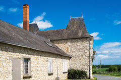 Old french house Stock Image