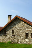 Old french house portrait Royalty Free Stock Image