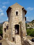 Saint Paul de Vence - Old French house royalty free stock image