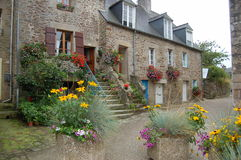 Old french houses Royalty Free Stock Image