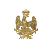 Old French Insignia Royalty Free Stock Photos