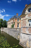 Old french mansion. Royalty Free Stock Image