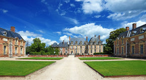 Old French Mansion. Stock Photography