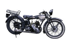 Old French motorbike royalty free stock images