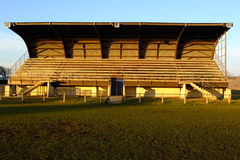 Old French stadium. Stock Photos