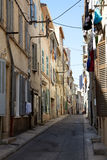 Old French street Stock Images