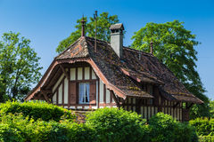 Old French style villa Royalty Free Stock Image