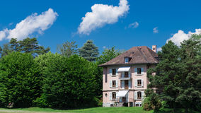 Old French style villa Stock Photography