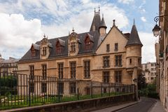 Old French town house, Paris Stock Photography
