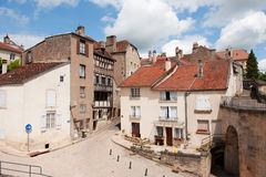 Old French village Royalty Free Stock Image