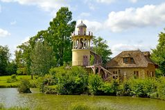 Old French village Royalty Free Stock Photo