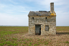 Old french vineyard cabin Royalty Free Stock Photos