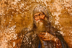 Old fresco Stock Image