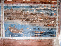Old fresco Stock Image