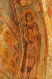 Old fresco on the wall of St.Nicholas church, Demre Royalty Free Stock Images