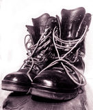 Old Friends 01. My First atempt at a still life with my favorate old boots Royalty Free Stock Image