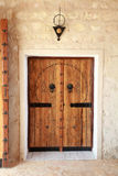 Old front door Stock Image