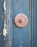 Old house door bell Royalty Free Stock Photography