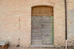Old front door Royalty Free Stock Photo