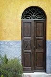 Old frontdoor Stock Photography