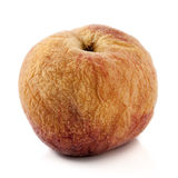 Old fruit on a white background Royalty Free Stock Photography