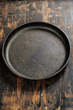 Old frying pan Royalty Free Stock Photography
