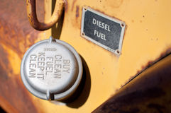 Old fuel cap Royalty Free Stock Photos