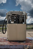 Old fuel pump. An old petrol pump in need of repair Royalty Free Stock Images
