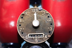 Old Fuel Pump Stock Photography