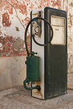 Old fuel pump supply Royalty Free Stock Photo