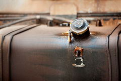 Old  fuel tank Stock Photography