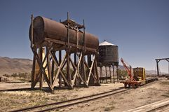 Old Fuel and Water Tank Stock Photography