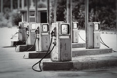 Old fueling station Stock Photography