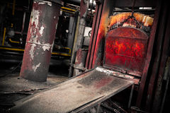 A old furnace Royalty Free Stock Images