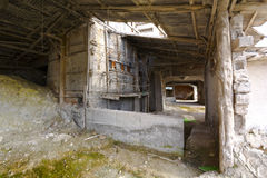Old furnace Royalty Free Stock Image