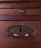 Old furniture handle Stock Image