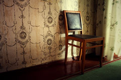Old furniture in the room Royalty Free Stock Images