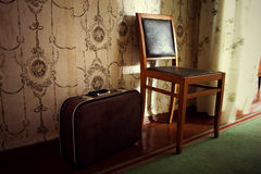 Old furniture in the room Royalty Free Stock Photography
